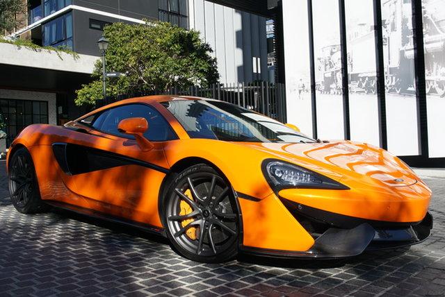 Used McLaren 570S P13 East Brisbane, 2015 McLaren 570S P13 Ventura Orange 7 Speed Sports Automatic Dual Clutch Coupe