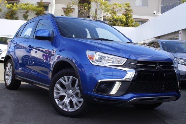 Used Mitsubishi ASX XC MY19 ES 2WD Mount Gravatt, 2019 Mitsubishi ASX XC MY19 ES 2WD Blue 1 Speed Constant Variable Wagon