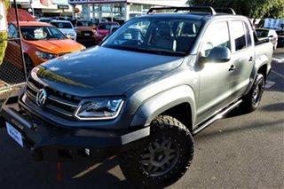 2015 Volkswagen Amarok 2H MY15 TDI420 4MOTION Perm Canyon Grey 8 Speed Automatic Utility.