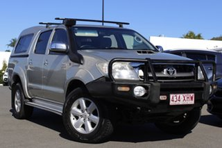 2010 Toyota Hilux KUN26R MY10 SR5 Silver 5 Speed Manual Utility.