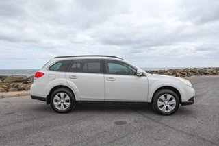 2011 Subaru Outback B5A MY12 2.5i Lineartronic AWD White 6 Speed Constant Variable Wagon