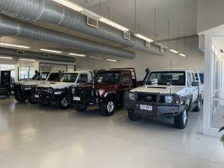 2016 Toyota Landcruiser LC70 VDJ79R MY17 Workmate (4x4) White 5 Speed Manual Double Cab Chassis.