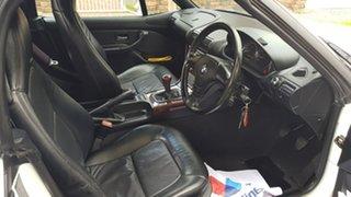 1997 BMW Z3 White 5 Speed Manual Roadster