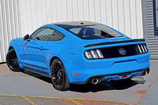 2016 Ford Mustang FM 2017MY Fastback Blue 6 Speed Manual Fastback.