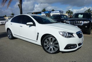 2014 Holden Calais VF MY15 V White 6 Speed Sports Automatic Sedan.