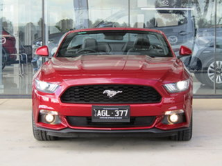 2016 Ford Mustang FM SelectShift Red 6 Speed Sports Automatic Convertible