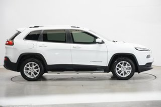 2016 Jeep Cherokee KL MY16 Longitude Bright White 9 Speed Sports Automatic Wagon