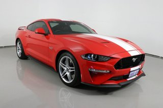 2019 Ford Mustang FN Fastback GT 5.0 V8 Red 6 Speed Manual Coupe.