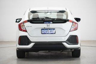 2019 Honda Civic 10th Gen MY19 VTi-S White 1 Speed Constant Variable Hatchback