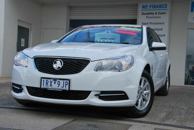 Used Holden Commodore VF II Evoke Wendouree, 2016 Holden Commodore VF II Evoke White 6 Speed Automatic Sportswagon