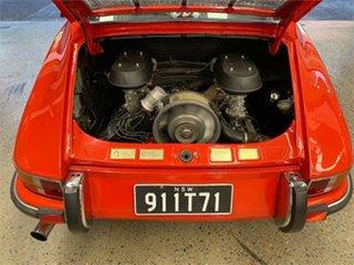 1971 Porsche 911 T Blood Orange Manual Coupe
