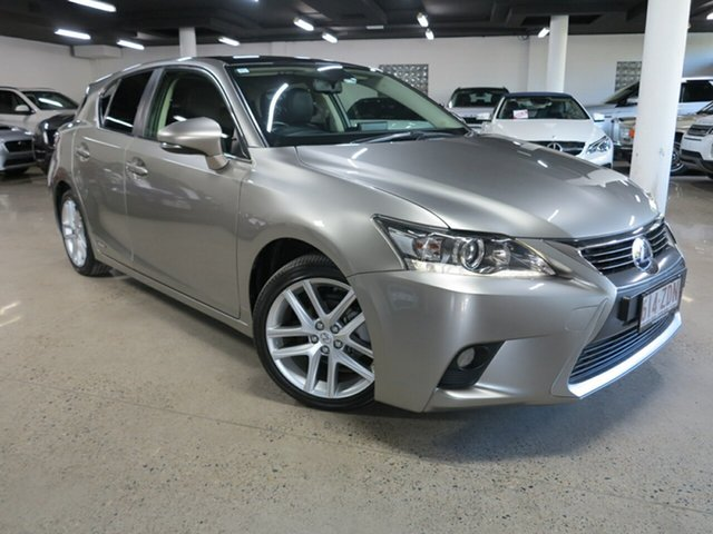 Used Lexus CT ZWA10R MY16 CT200h Limited Edition Albion, 2017 Lexus CT ZWA10R MY16 CT200h Limited Edition Silver 1 Speed Constant Variable Hatchback Hybrid