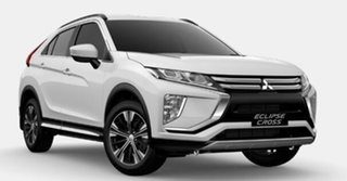 2021 Mitsubishi Eclipse Cross YB MY21 LS AWD White 8 Speed Constant Variable Wagon