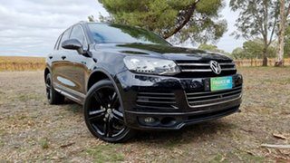 2014 Volkswagen Touareg 7P MY14 V8 TDI Tiptronic 4MOTION R-Line Black/Grey 8 Speed Sports Automatic.