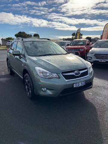 Used Subaru XV G4X MY14 2.0i-L Lineartronic AWD Warrnambool East, 2014 Subaru XV G4X MY14 2.0i-L Lineartronic AWD Green 6 Speed Constant Variable Wagon