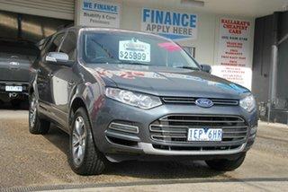 2014 Ford Territory SZ Titanium (RWD) Grey 6 Speed Automatic Wagon.