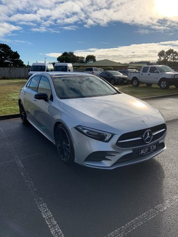 Used Mercedes-Benz A-Class W177 A200 DCT Warrnambool East, 2018 Mercedes-Benz A-Class W177 A200 DCT Iridium Silver 7 Speed Sports Automatic Dual Clutch