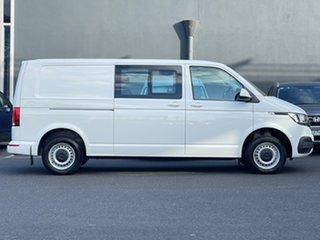 2021 Volkswagen Transporter T6.1 MY21 TDI340 Crewvan LWB DSG White 7 Speed.