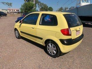 2008 Hyundai Getz Yellow 4 Speed Auto Active Select Hatchback.