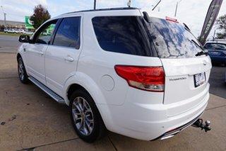 2012 Ford Territory SZ Titanium Seq Sport Shift Winter White 6 Speed Sports Automatic Wagon.