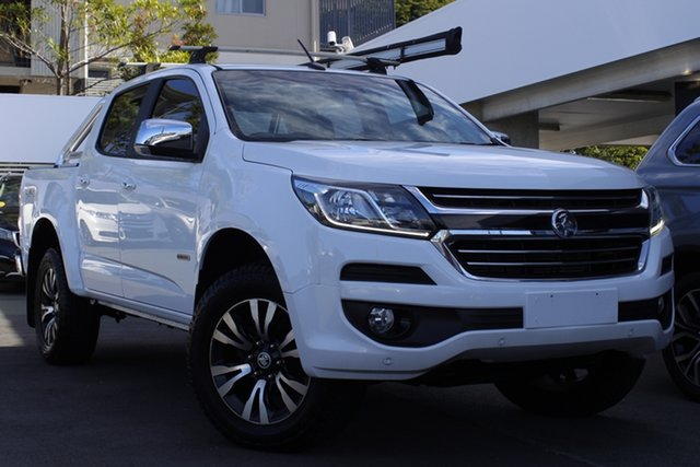 Used Holden Colorado RG MY16 LTZ Crew Cab Mount Gravatt, 2016 Holden Colorado RG MY16 LTZ Crew Cab White 6 Speed Sports Automatic Utility