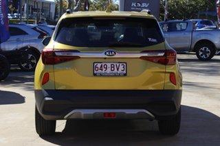 2021 Kia Seltos SP2 MY21 Sport+ 2WD Starbright Yellow 1 Speed Constant Variable Wagon