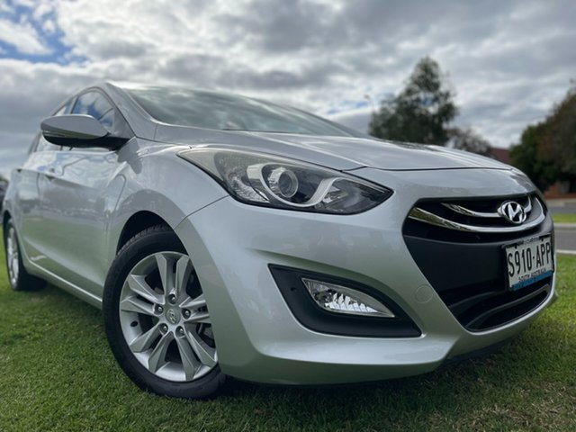 Used Hyundai i30 GD Elite Hindmarsh, 2012 Hyundai i30 GD Elite Sleek Silver 6 Speed Sports Automatic Hatchback