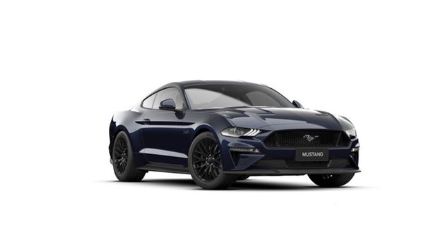 New Ford Mustang FN MY20 GT 5.0 V8 Dandenong, 2021 Ford Mustang FN MY20 GT 5.0 V8 Antimatter Blue 10 Speed Automatic Fastback