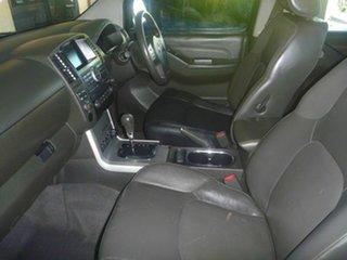 2012 Nissan Navara D40 S6 MY12 ST-X 550 Silver 7 Speed Automatic Utility