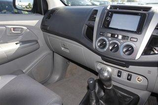 2010 Toyota Hilux KUN26R MY10 SR5 Silver 5 Speed Manual Utility