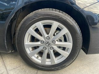 2013 Honda Civic 9th Gen Ser II VTi-LN Black 5 Speed Sports Automatic Sedan.