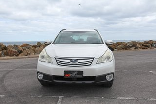 2011 Subaru Outback B5A MY12 2.5i Lineartronic AWD White 6 Speed Constant Variable Wagon.