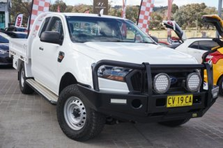 2017 Ford Ranger PX MkII XL White 6 Speed Manual Utility.