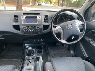 2014 Toyota Hilux KUN26R MY14 SR Double Cab White 5 Speed Automatic Cab Chassis