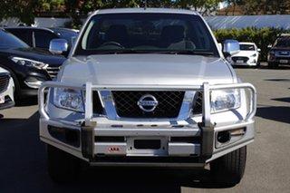 2011 Nissan Navara D40 S5 MY12 ST-X Silver 7 Speed Sports Automatic Utility.