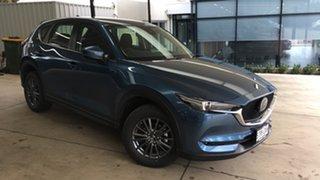 2021 Mazda CX-5 KF4WLA Maxx SKYACTIV-Drive i-ACTIV AWD Sport Eternal Blue 6 Speed Sports Automatic.