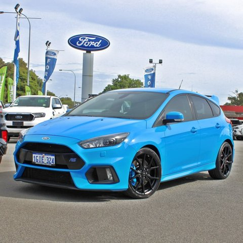 Used Ford Focus LZ RS AWD Midland, 2016 Ford Focus LZ RS AWD Blue 6 Speed Manual Hatchback