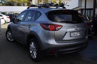 2014 Mazda CX-5 KE1022 Grand Touring SKYACTIV-Drive AWD Silver 6 Speed Sports Automatic Wagon.