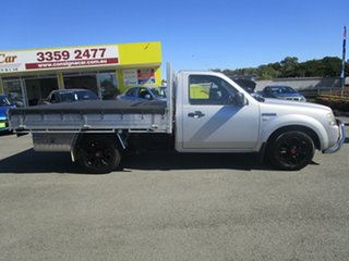 2007 Ford Ranger PJ XL Silver 5 Speed Manual Cab Chassis
