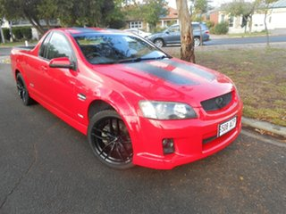 2009 Holden Ute VE MY09.5 SS V Red 6 Speed Sports Automatic Utility.