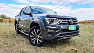 2018 Volkswagen Amarok 2H MY18 TDI580 4MOTION Perm Ultimate Grey 8 Speed Automatic Utility.