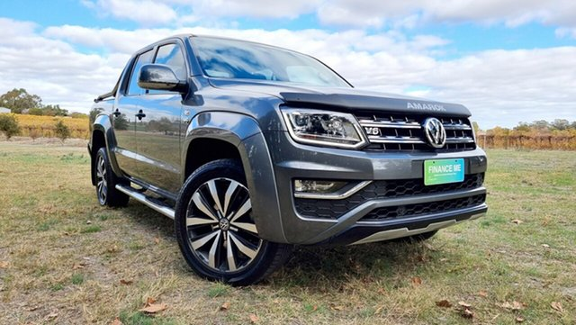 Used Volkswagen Amarok 2H MY18 TDI580 4MOTION Perm Ultimate Nuriootpa, 2018 Volkswagen Amarok 2H MY18 TDI580 4MOTION Perm Ultimate Grey 8 Speed Automatic Utility