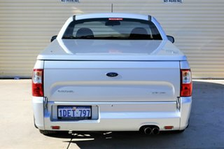 2009 Ford Falcon FG XR6 Ute Super Cab Silver 5 Speed Sports Automatic Utility
