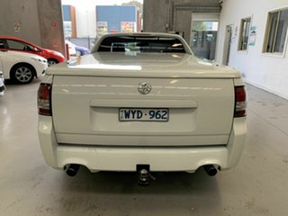 2009 Holden Ute VE MY09.5 SS White 6 Speed Sports Automatic Utility