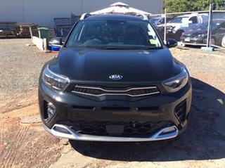 2021 Kia Stonic YB MY21 GT-Line DCT FWD Aurora Black 7 Speed Sports Automatic Dual Clutch Wagon.