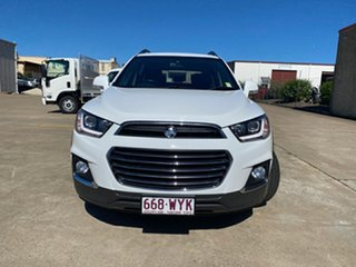 2016 Holden Captiva CG MY17 Active 2WD Summit White 6 Speed Sports Automatic Wagon
