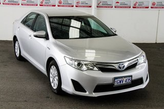 2015 Toyota Camry AVV50R Altise Silver Pearl 1 Speed Constant Variable Sedan Hybrid.