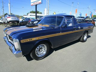 1971 Ford Falcon XY Blue Utility.
