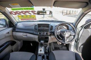 2014 Mitsubishi Triton MN MY15 GLX (4x4) White 4 Speed Automatic 4x4 Double Cab Utility
