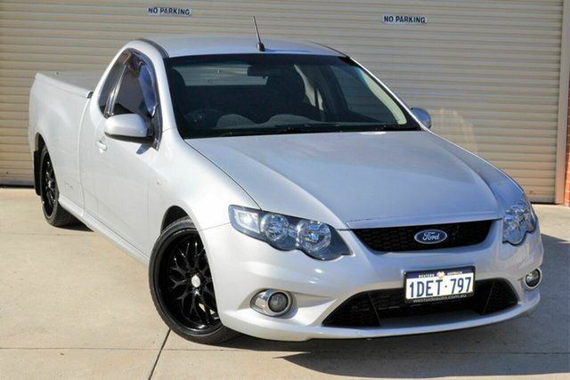 Used Ford Falcon FG Ute Super Cab Mount Lawley, 2009 Ford Falcon FG Ute Super Cab Silver 5 Speed Automatic Utility